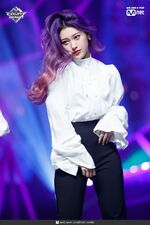 190221 Mcountdown Naver Butterfly Choerry 4