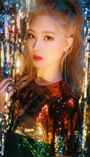 Kim Lip Up & Line Photocard Scan by loonascans