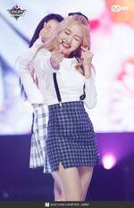 180621 yyxy Mcountdown Naver love4eva Go Won 2