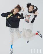 ELLE Korea (HyunJin, Chuu) 3