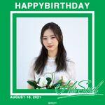 210818 SNS HaSeul Birthday
