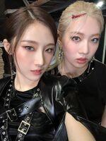 210910 SNS HaSeul, Kim Lip