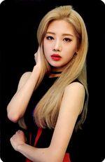Kim Lip single Photocard 3