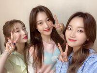 210310 SNS YeoJin, Choerry, Go Won