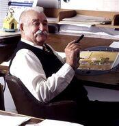 Bill melendez drawing table
