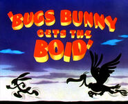 Bugs Bunny Gets The Boid Title