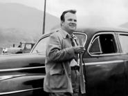 Tex near his car