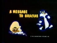Lt a message to gracias the bugs bunny & tweety show