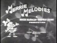 Merrie Melodies - Three's a Crowd - Rudolph Ising - 1932x47