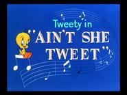 Ain't She Tweet-restored