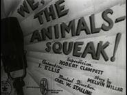 Looney Tunes - We the Animals Squeak! - Bob Clampett - 1941x337