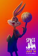 Space Jam A New Legacy - Bugs Bunny poster