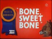 Lt bone sweet bone blue ribbon