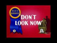 Don't Look Now (1936) - 2021 restoration - Intro and Outro + 14-seconds clip