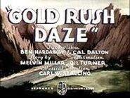 Merrie Melodies - Gold Rush Daze - Hardaway & Dalton - 1939x234
