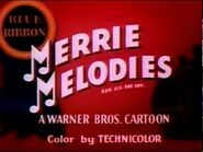 """Looney Tunes """"Flop Goes the Weasel"""" (1943)"""
