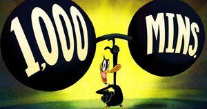 Daffy Duck 1,000 mins..jpg