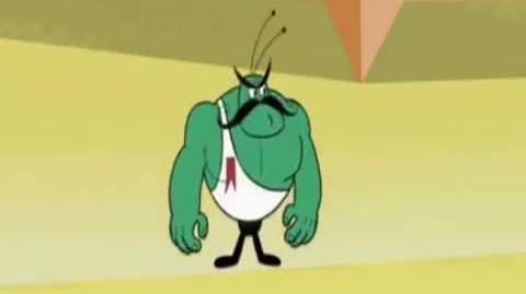 New Looney Tunes - Angelo the Mighty Flea (Clip)