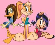 Tina, Lola and Petunia