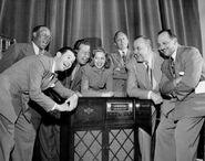 Jack Benny group photo