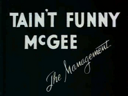 Holiday Highlights - T'aint funny, McGee Reference