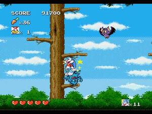 Tiny_Toon_Adventures_-_Buster's_Hidden_Treasure_(Sega_Genesis)_-_Playthrough