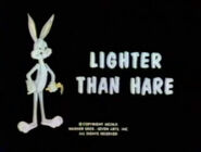 Lt lighter than hare tbbrrs fs