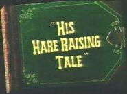 Hare-Raising Tale title card