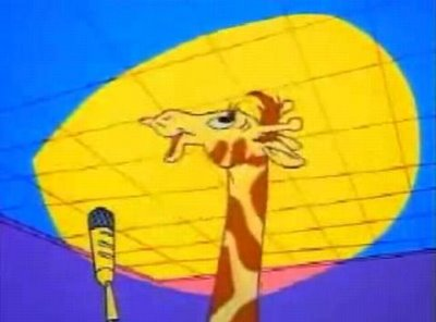 Nelly the Giraffe