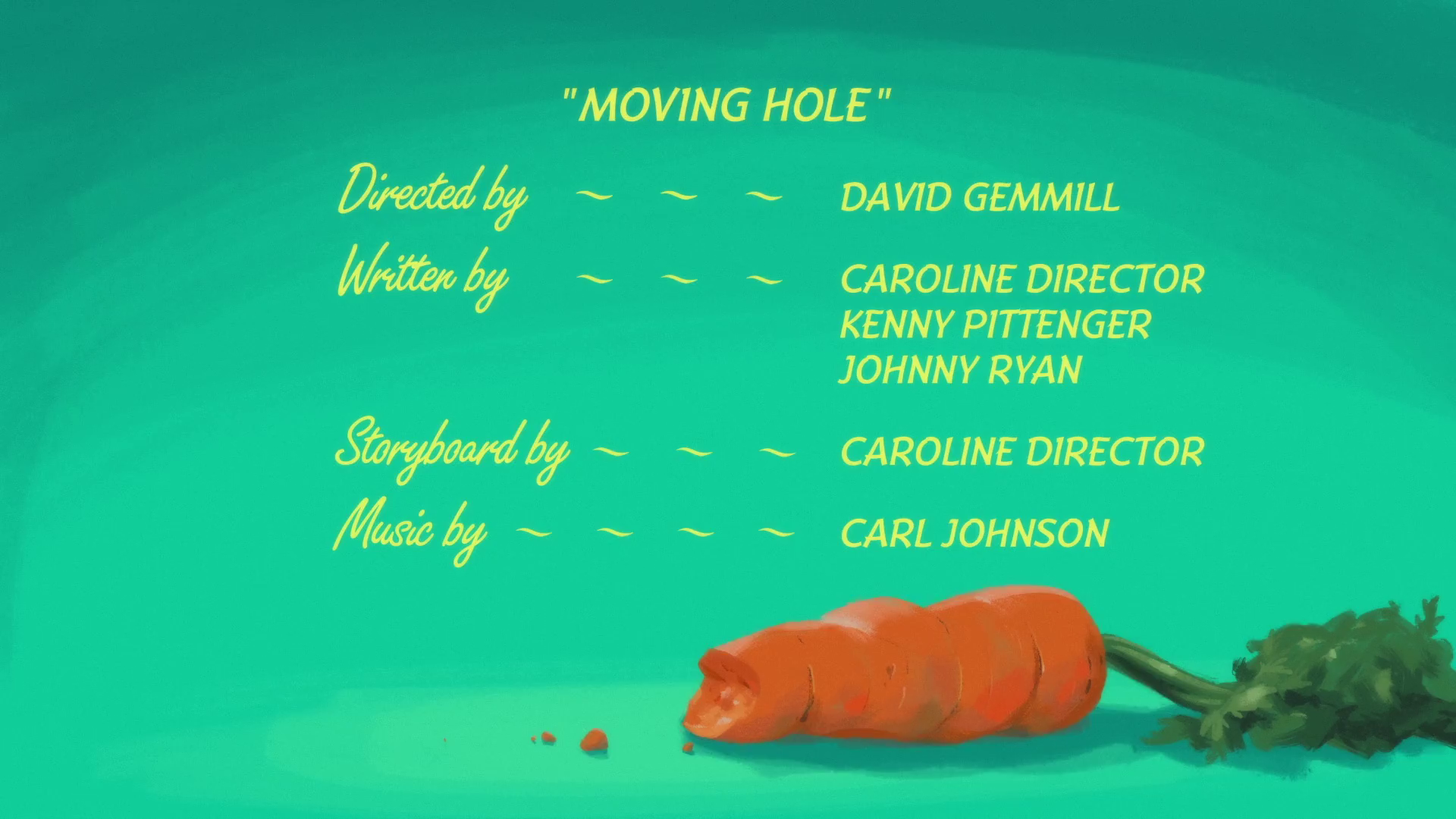 Moving Hole