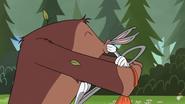 Bigfoot Kisses Bugs Bunny