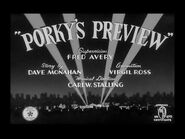 Looney Tunes - Porky's Preview - Tex Avery - 1941x324