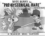 Pre-Hysterical Hare Lobby Card 2