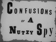 Confusions of a nutzy spy title