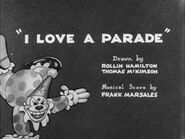 Merrie Melodies - I Love A Parade - Rudolph Ising - 1932x38