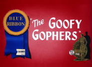 The Goofy Gophers Blue Ribbon