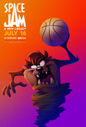 Space Jam A New Legacy - Taz poster