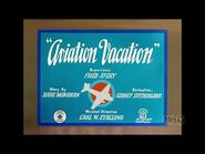 Aviation Vacation (1941) - 2021 restoration - Intro and Outro + 27-seconds clip