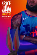 Space Jam A New Legacy - LeBron James poster