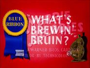 What's Brewin', Bruin? (1948)