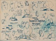 Horton's model sheet