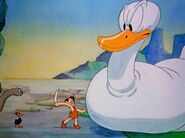 Daffy Duck and the Dinosaur 014