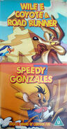 Wile E. Coyote & Road Runner Speedy Gonzales UK VHS