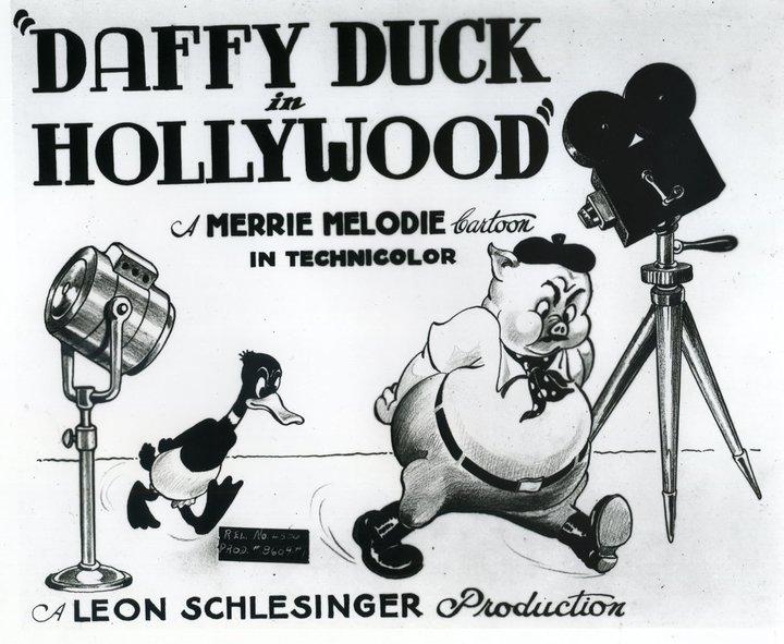 Daffy Duck in Hollywood