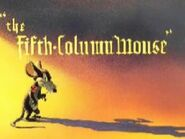 The Fifth-Column Mouse (1943) - original titles recreation