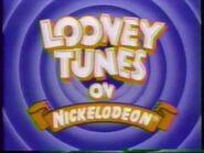 """Looney Tunes on Nickelodeon"" 1988 interstitial bumper -2-2"