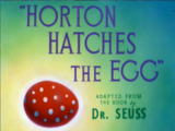 Horton Hatches the Egg