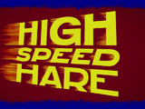 High Speed Hare
