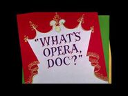 What's Opera, Doc? (Vocals-Only Track)