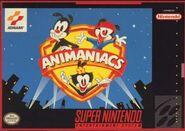 Animaniacs SNES cover art